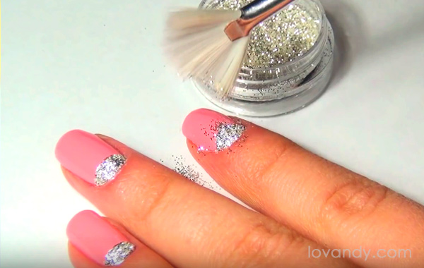 Diy how to make moon nail design step by step half moon nail design prinsesfo Image collections