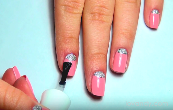 half moon nail design course