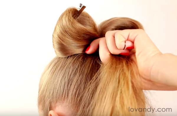 hair bow hairstyles step by step