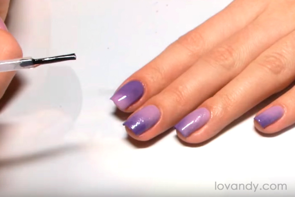 lilac and purple gradient