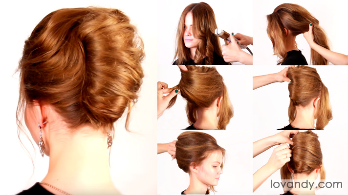 How To Create A French Twist Hairstyle