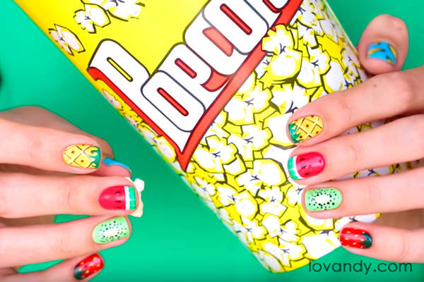 summer holiday nails ideas