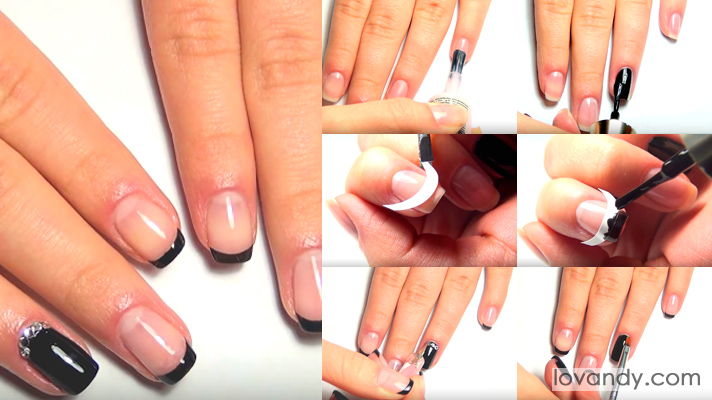 really beautiful french manicure