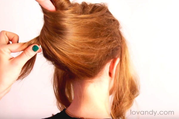 easy french twist hair
