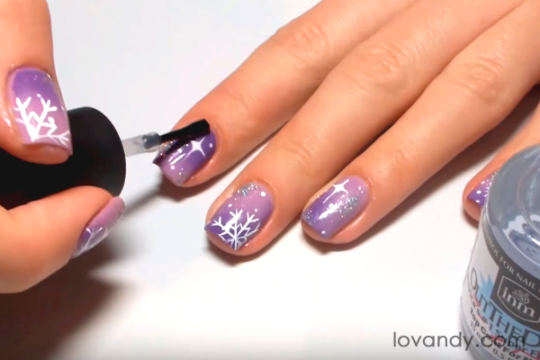 how to make a top coat for nails