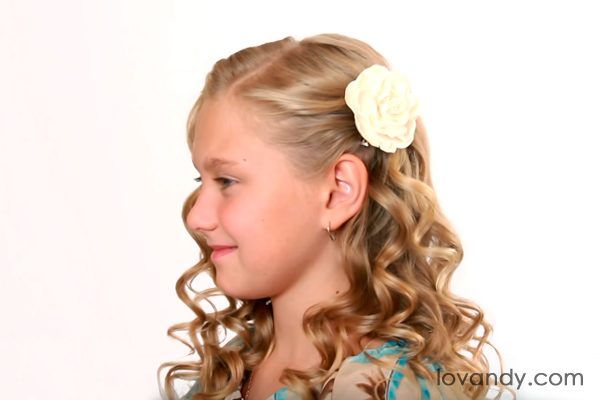 easy holiday curls