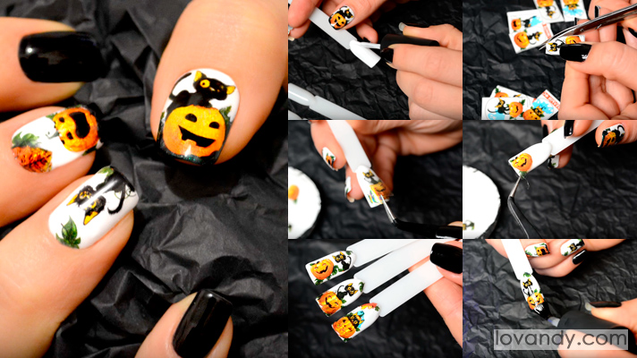 your favorite halloween manicure