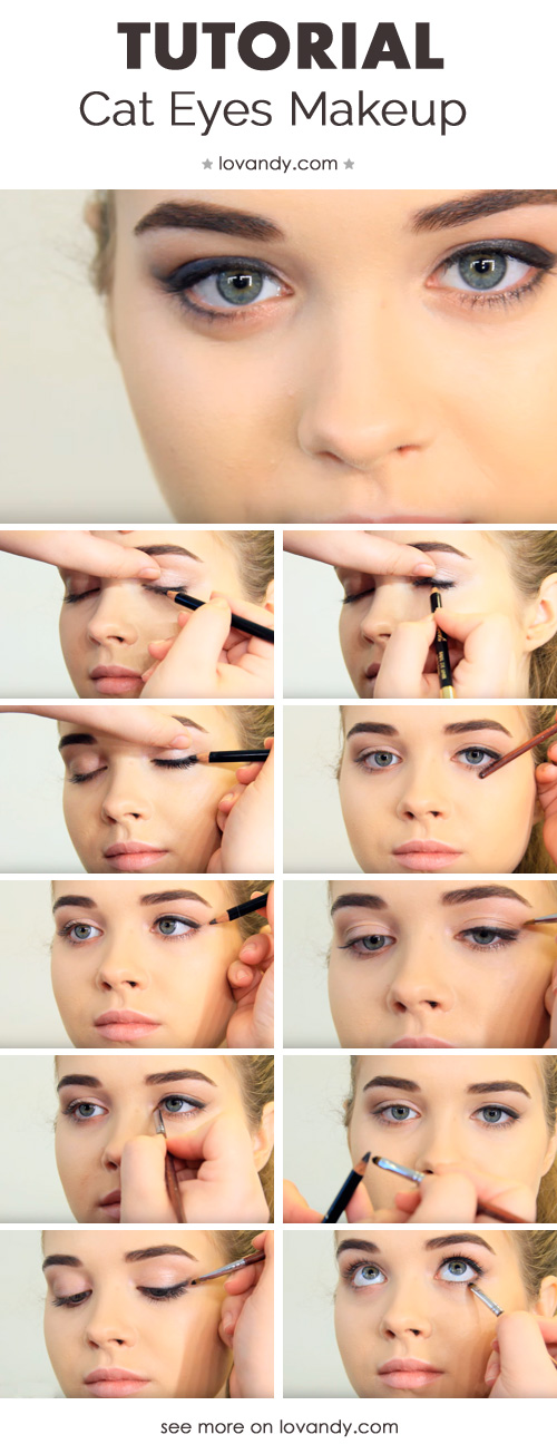 How to do the cat eye makeup