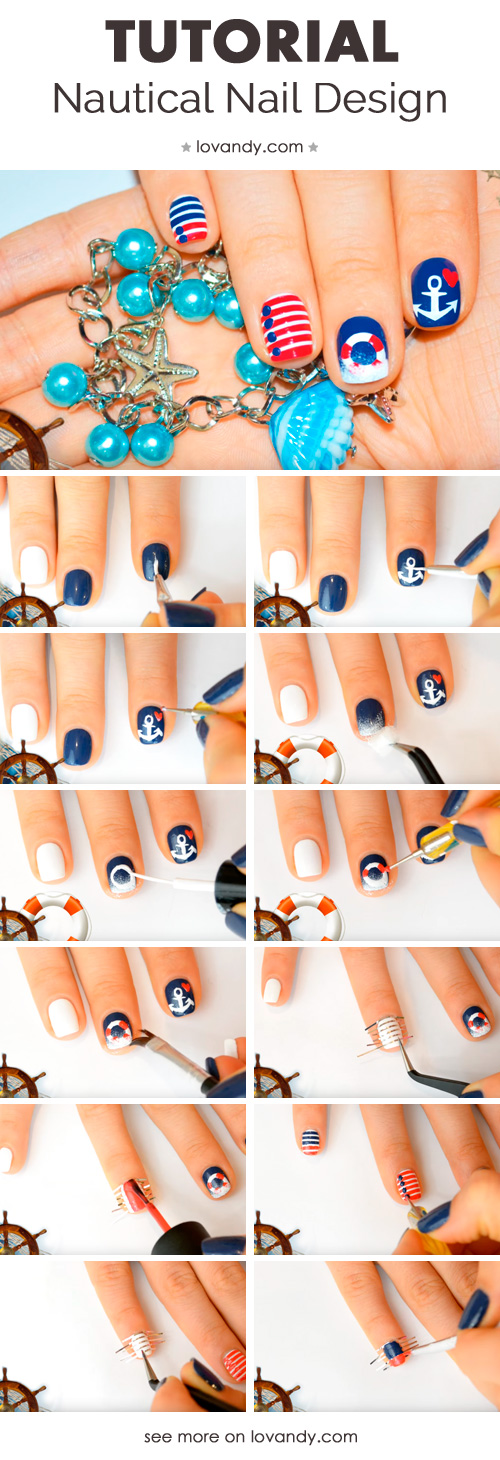 diy instructions for marine manicure