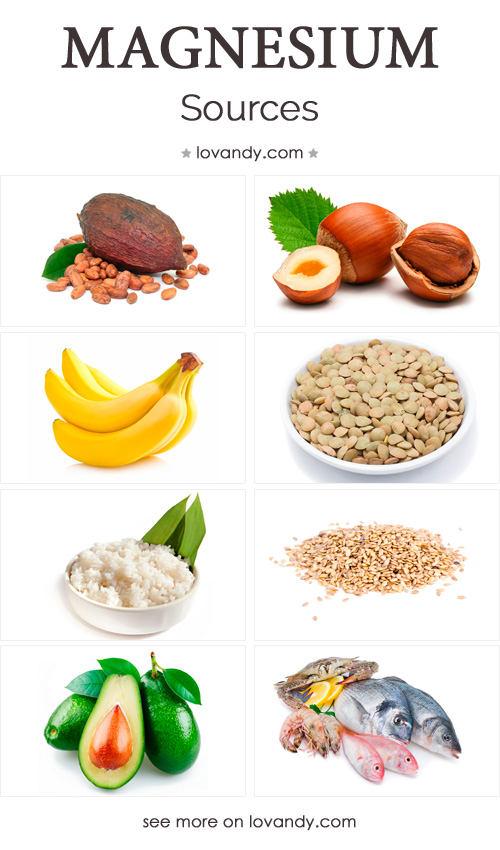 sources of magnesium