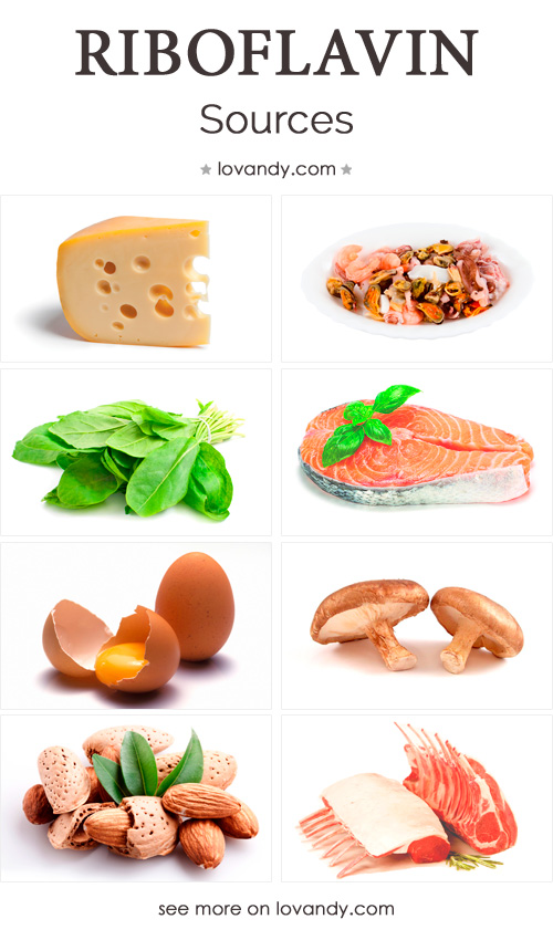 sources of riboflavin