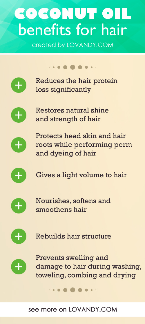 how to apply coconut oil to hair