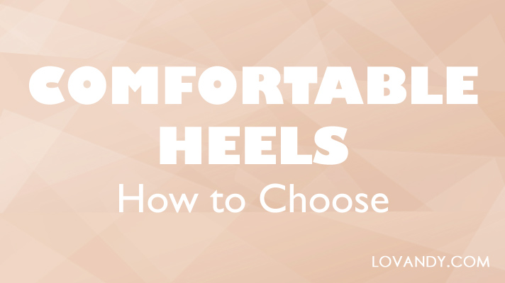 comfortable heels for women