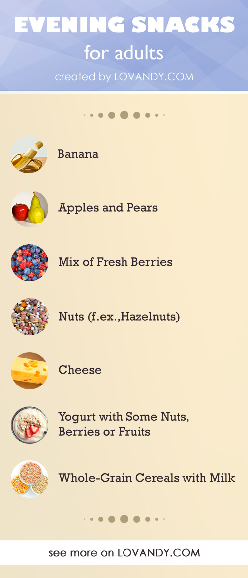 what to eat as evening snacks