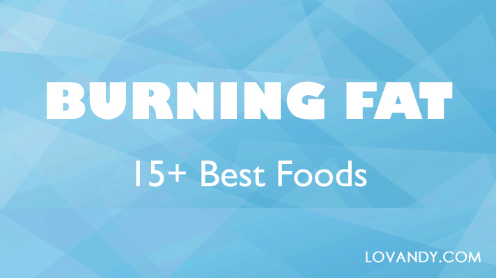 natural and healthy fat burning foods